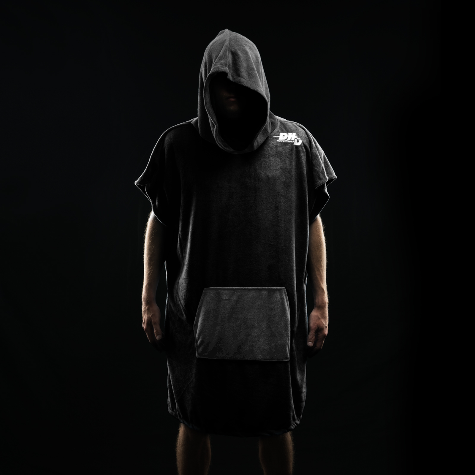 DHD Dry Towel - Black/Grey