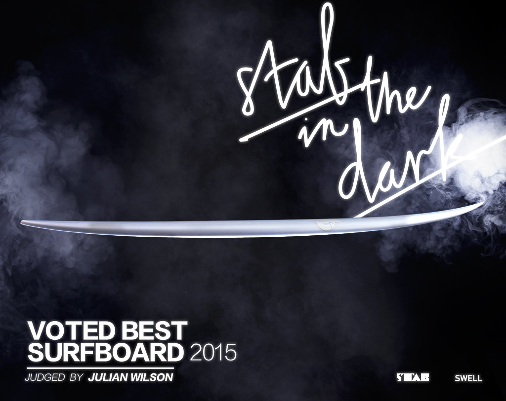 Best Surfboard 2015 'Stab In The Dark' voted by Julian Wilson