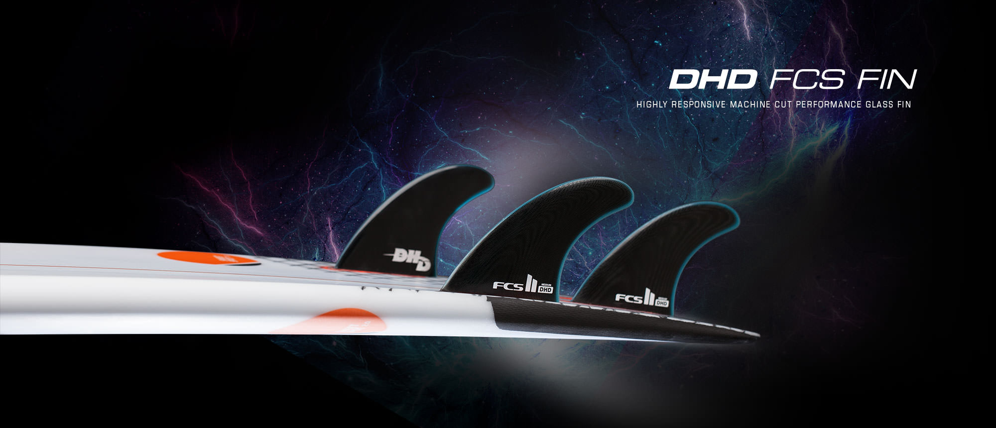 DHD FCS II Performance Surfboard Fin