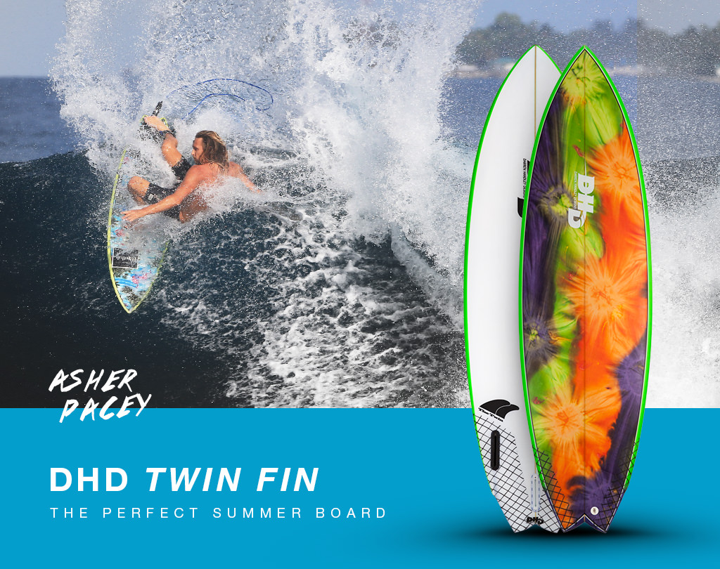 DHD Twin Fin - The perfect summer board
