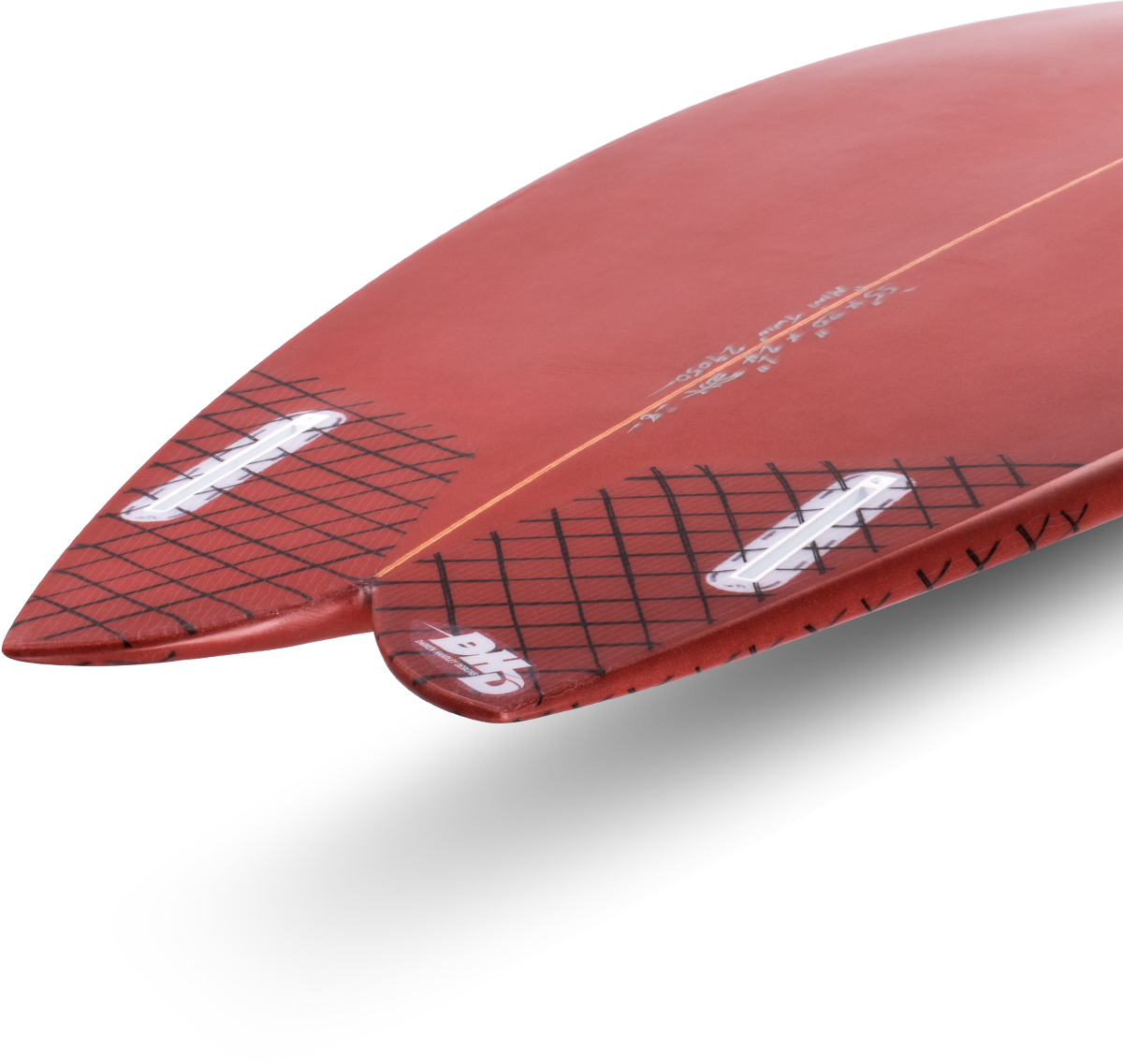 DHD Mini Twin Surfboard
